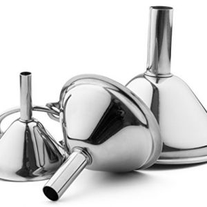 Small Funnel Set 3-Piece Stainless Steel